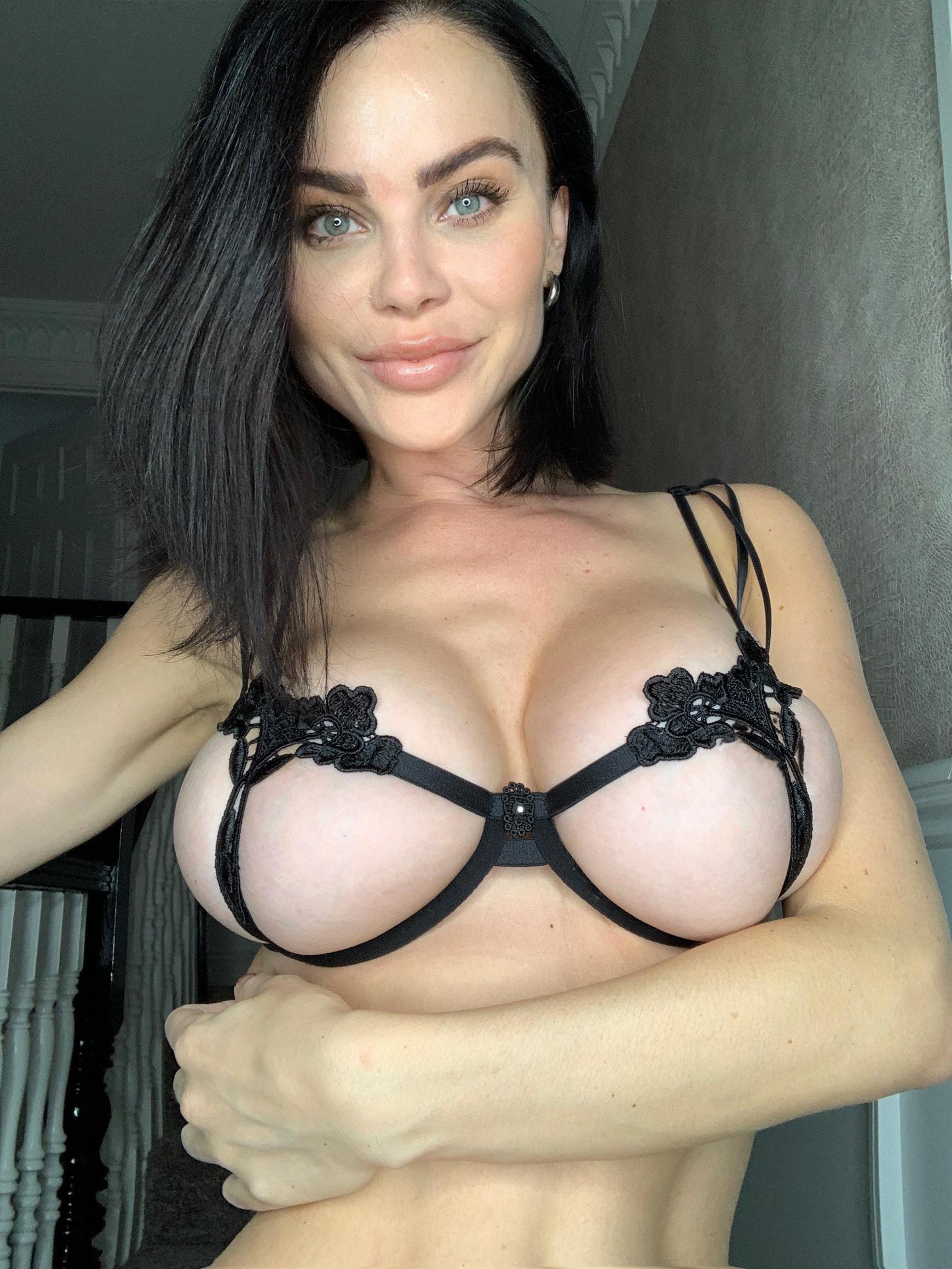 Allll black lingerie!